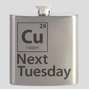 Cu Next Tuesday Flask