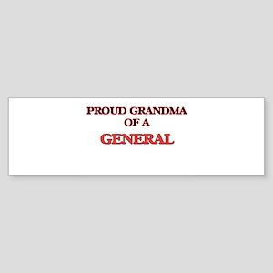 Proud Grandma of a General Bumper Sticker