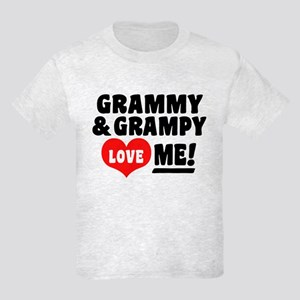 Grammy and Grampy Love Me Kids Light T-Shirt
