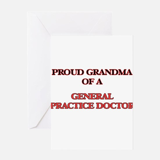 Proud Grandma of a General Practice Greeting Cards