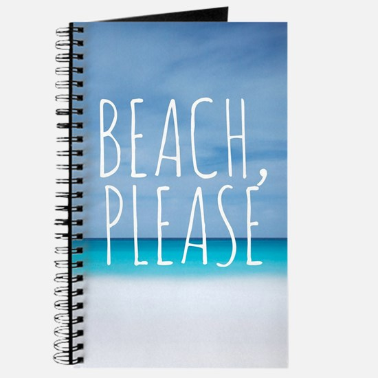 Beach please funny tropical hipster Journal
