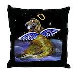 Golden Angel Throw Pillow