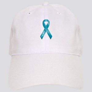 Teal Ribbon Cap