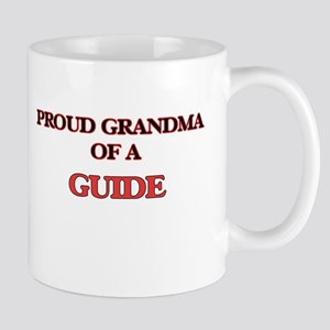 Proud Grandma of a Guide Mugs