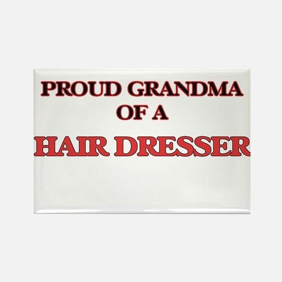 Proud Grandma of a Hair Dresser Magnets