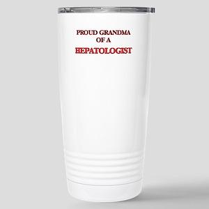 Proud Grandma of a Hepa Stainless Steel Travel Mug