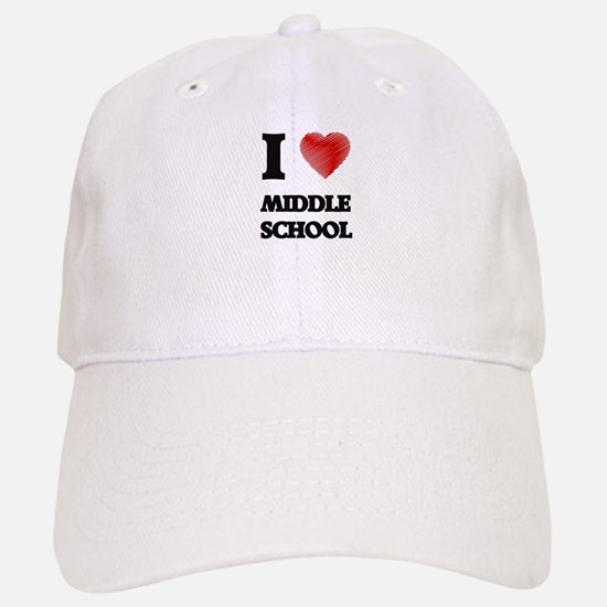 I Love Middle School Hat
