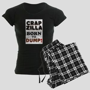 CRAPZILLA - BORN TO DUMP! Pajamas