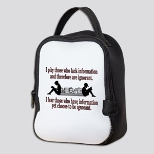 ignorance Neoprene Lunch Bag