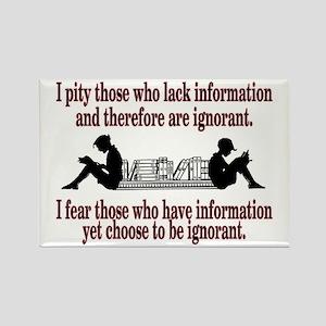 Ignorance Magnets