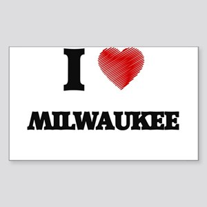 I Love Milwaukee Sticker
