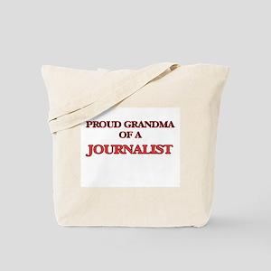 Proud Grandma of a Journalist Tote Bag