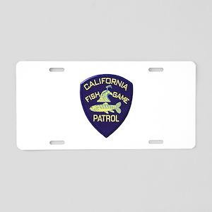 California Fish & Game Patrol Aluminum License Pla