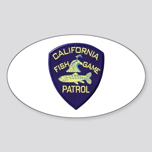California Fish & Game Patrol Sticker