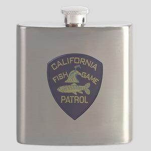 California Fish & Game Patrol Flask