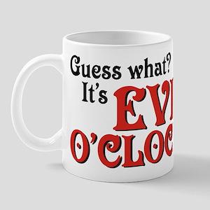 Evil O'Clock Mug
