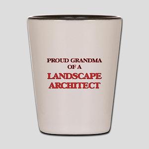 Proud Grandma of a Landscape Architect Shot Glass