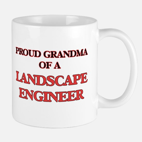 Proud Grandma of a Landscape Engineer Mugs