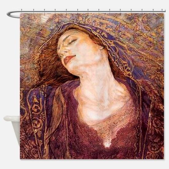 Gustav Klimpt Shower Curtain