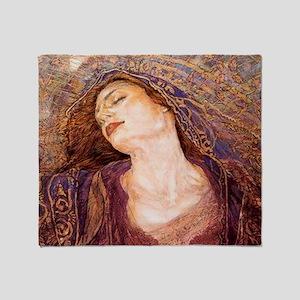Gustav Klimpt Throw Blanket
