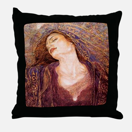 Gustav Klimpt Throw Pillow