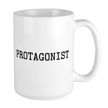 Protagonist 15 oz Ceramic Large Mug