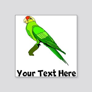 Green Conure Bird (Custom) Sticker