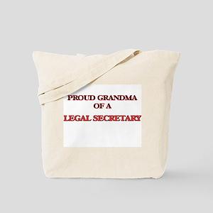 Proud Grandma of a Legal Secretary Tote Bag