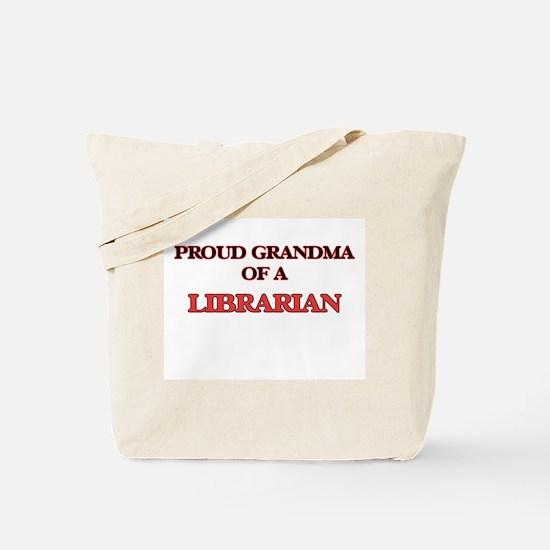 Proud Grandma of a Librarian Tote Bag