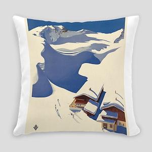 Vintage poster - Austria Everyday Pillow