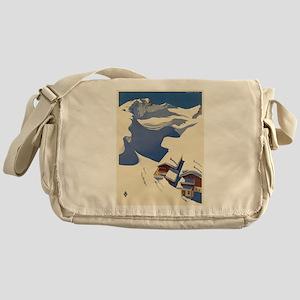 Vintage poster - Austria Messenger Bag