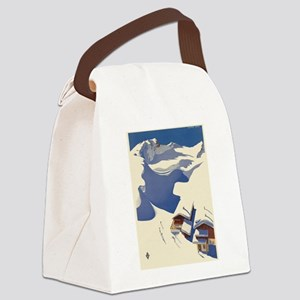 Vintage poster - Austria Canvas Lunch Bag