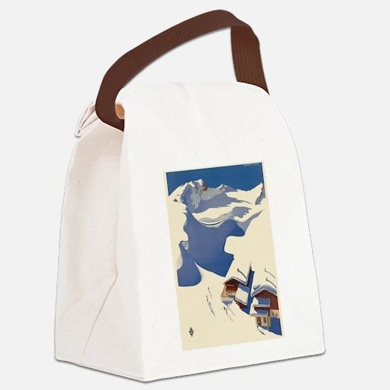 Vintage poster - Austria Canvas Lunch Bag