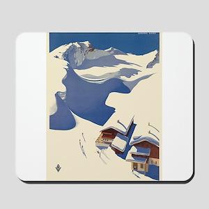 Vintage poster - Austria Mousepad