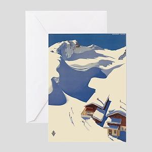 Vintage poster - Austria Greeting Cards
