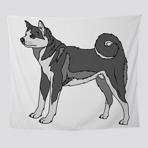 Akita Dog Wall Tapestry