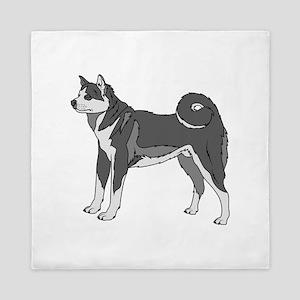 Akita Dog Queen Duvet