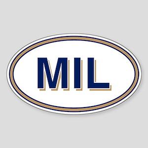 MIL Home Sticker