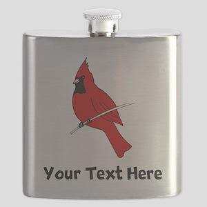 Red Cardinal (Custom) Flask