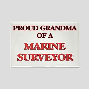 Proud Grandma of a Marine Surveyor Magnets