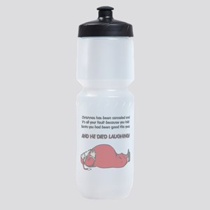 Christmas Cancelled Sports Bottle