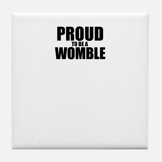 Proud to be WOLF Tile Coaster