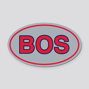 BOS Away Oval Car Magnet