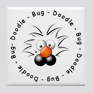 Doodle Bug Tile Coaster