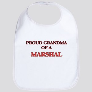 Proud Grandma of a Marshal Bib
