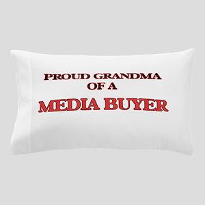 Proud Grandma of a Media Buyer Pillow Case