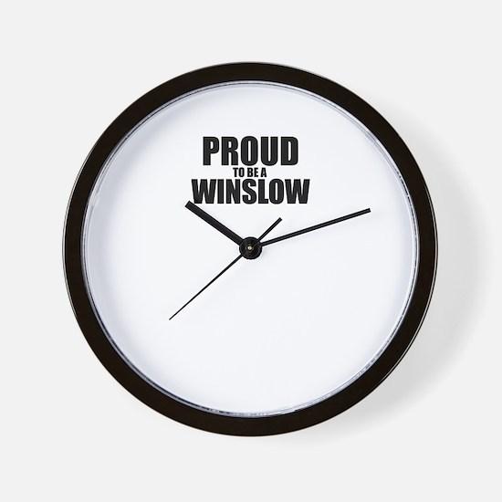 Unique Winslow Wall Clock