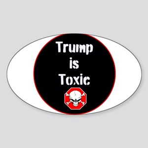 Anti Trump, Trump is toxic Sticker