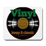 Vinyl Records Mousepad