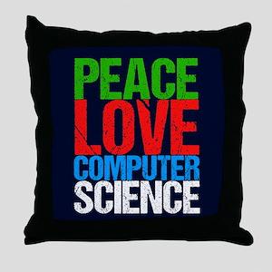 Computer Science Throw Pillow